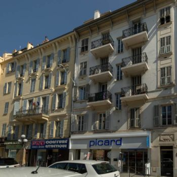 L'immeuble de l'appartement Pastorelli