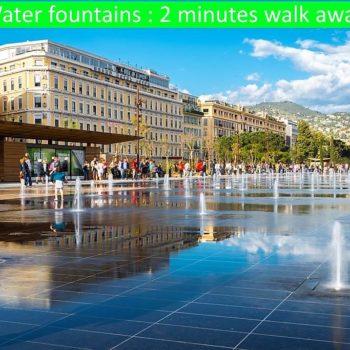 Plan d'eau, place Masséna