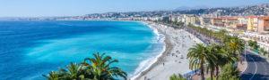 Nice's beaches
