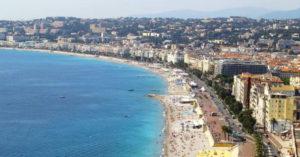 The famous Promenade des Anglais